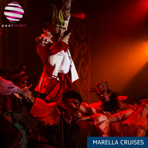 Peel Talent's Marella Showteam performing 'A Twist in the Tale: The Untold Story of Cinderella@